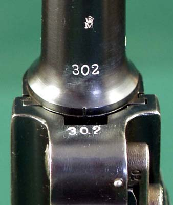 Serial Numbers on 1916 German Navy Luger