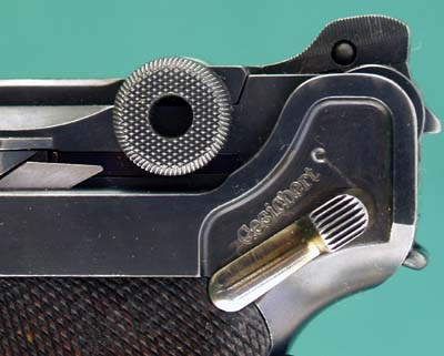 1906 Navy Imperial Luger 2nd Issue Thumb Safety